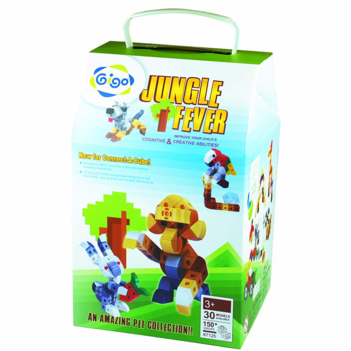 Gigo Конструктор Jungle fever (Гиго. В мире животных) стамеска 22 мм stanley