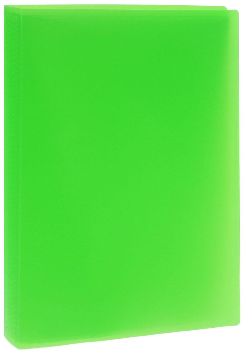 Erich Krause Папка с файлами 40 листов цвет салатовый50058Папка Erich Krause содержит 40 прозрачных файлов-вкладышей. Она идеально подходит для хранения рабочих бумаг и документов формата А4 без перфорации, требующих упорядоченности и наглядного обзора: отчетов, презентаций, коммерческих и персональных портфолио.Папка выполнена из прочного пластика с гофрированной поверхностью в ярком цвете. Благодаря совершенной технологии производства папка не подвергается воздействию низкой температуры, не деформируется и не ломается при изгибе и транспортировке.