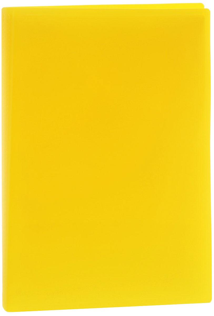Erich Krause Папка с файлами 40 листов цвет желтыйFS-36054Папка Erich Krause содержит 40 прозрачных файлов-вкладышей. Она идеально подходит для хранения рабочих бумаг и документов формата А4 без перфорации, требующих упорядоченности и наглядного обзора: отчетов, презентаций, коммерческих и персональных портфолио.Папка выполнена из прочного пластика с гофрированной поверхностью в ярком цвете. Благодаря совершенной технологии производства папка не подвергается воздействию низкой температуры, не деформируется и не ломается при изгибе и транспортировке.