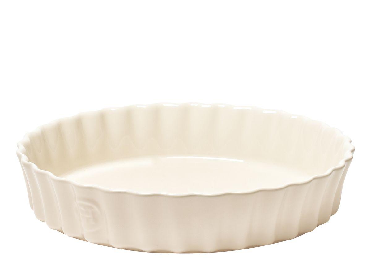Форма для киша Emile Henry, диаметр 28 см2640Форма Emile Henry, выполненная из высокопрочной керамики, предназначена для приготовления киша или клафути. Клафути - особый французский десерт, нежно тающий во рту, должен готовиться медленно и пропекаться равномерно. Эта керамическая форма Emile Henry незаменима для его приготовления. А порционный размер формы, прекрасно сохраняющий температуру, удобен для подачи блюда прямо на стол.А благодаря высоким бортиком, такую форму можно использовать для приготовления почти любых видов пирогов.Можно помещать в духовку, микроволновую печь, морозильную камеру и мыть в посудомоечной машине.Диаметр: 28 см.Объем: 2,5 л.