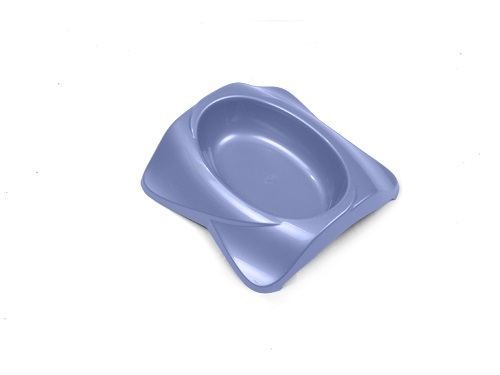 Миска для животных VanNess, цвет: голубой, 270 мл гамма миска для кошек и собак n2