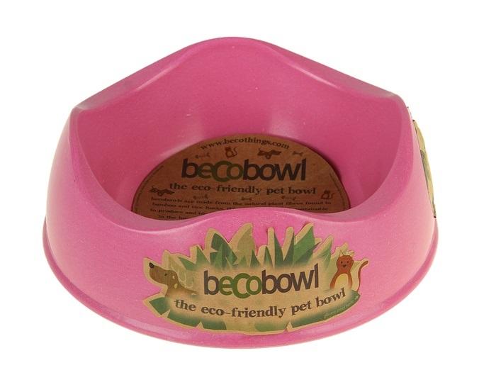 Миска для животных BecoThings, цвет: розовый, 750 мл4004Миска для животных BecoThings, изготовленная на основе волокон рисовой шелухи, бамбука и натуральных смол,предназначена для корма и воды. Она порадует удобством использования как самих животных, так и их хозяев. Яркий дизайн придаст изделию индивидуальность и удовлетворит вкус самых взыскательных зоовладельцев. Объем: 750 мл.