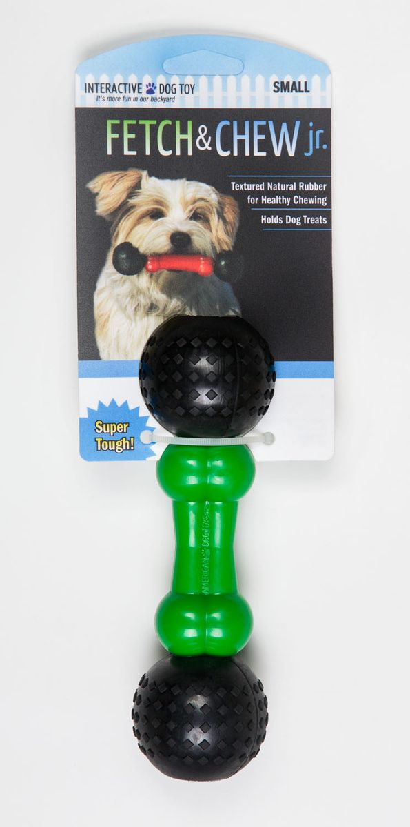 Игрушка для собак Fetch & Glow Jr. Светящаяся кость, цвет: зеленый, черный, длина 17,5 см0120710Игрушка для собак Fetch & Chew Jr. Светящаяся кость, выполненная из натурального нетоксичного каучука, подходит для игр на улице в вечернее время, так как светится в темноте и ее хорошо видно в траве и листве.Игрушка Fetch & Chew Jr. Светящаяся кость - отличная альтерналива обычным палкам. Подходит для собак малых и средних размеров.Длина изделия: 17,5 см.