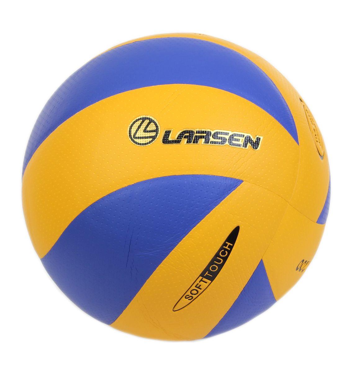 Мяч волейбольный Viva Larsen, VB ECE-1, р.4VB ECE-1Мяч волейбольный Viva/Larsen VB ECE-1. Размер: 4. 18 панелей. 3 слоя подкладочного материала: поликоттон. Окружность: 64-65 см. Специальная обработка поверхности мяча для лучшего сцепления. Клееные швы. Камера: латекс с бутиловым ниппелем, 60-65 г. Рекомендован для игры в помещении и проведения тренировок. Вес: 260-280 г.