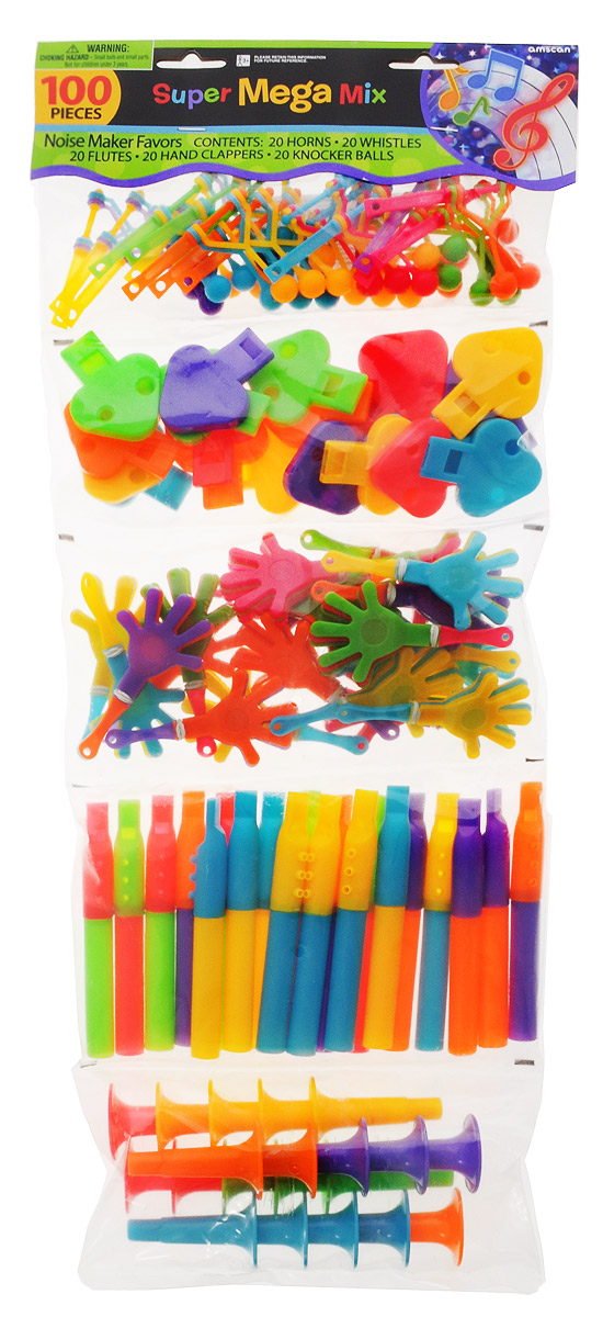 Amscan Игрушки для пиньяты Дуделки-Шумелки - Аксессуары для детского праздника