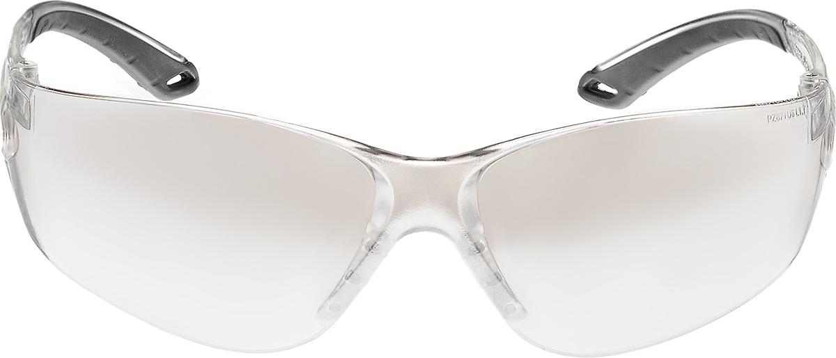 Очки стрелковые Stalker, защитные, цвет: зеркально-серыйAIRWHEEL M3-162.8Защитные стрелковые очки Stalker с ударопрочными поликарбонатными линзами светопрпускаемостью 75%. Обеспечивают защиту глаз спереди и сбоку от частиц, летящих со скоростью 400 м/с. Обрезиненные дужки. На линзы нанесена защита от царапин.Данные защитные очки были произведены в соответствии со стандартами ANSI Z87.1 и CE EN166. Их линзы изготовлены из ударопрочного поликарбоната с использованием покрытия, защищающего от царапин, но очки не являются небьющимися и обеспечивают ограниченную защиту. Характеристики очков:- УФ-защита- Светопропускаемость 75%- Класс оптики 1- Обрезиненные дужки- Ударопрочные- Защита от царапин.