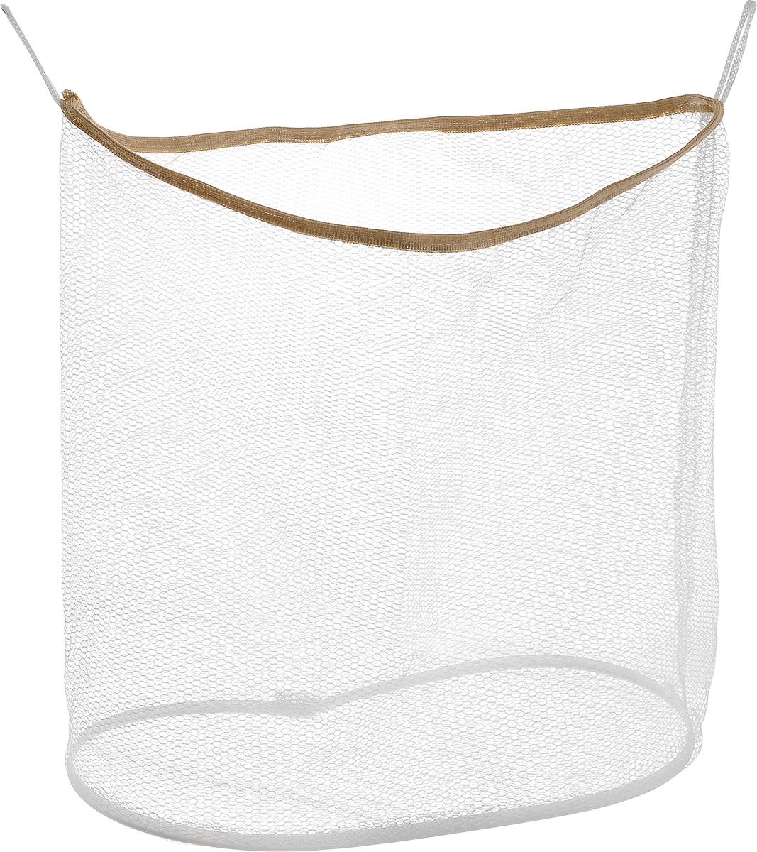 Сетка  Eva  для игрушек и мелочей в ванную, цвет: бежевый, белый, 35 х 15 х 37 см -  Контейнеры для игрушек, ковши