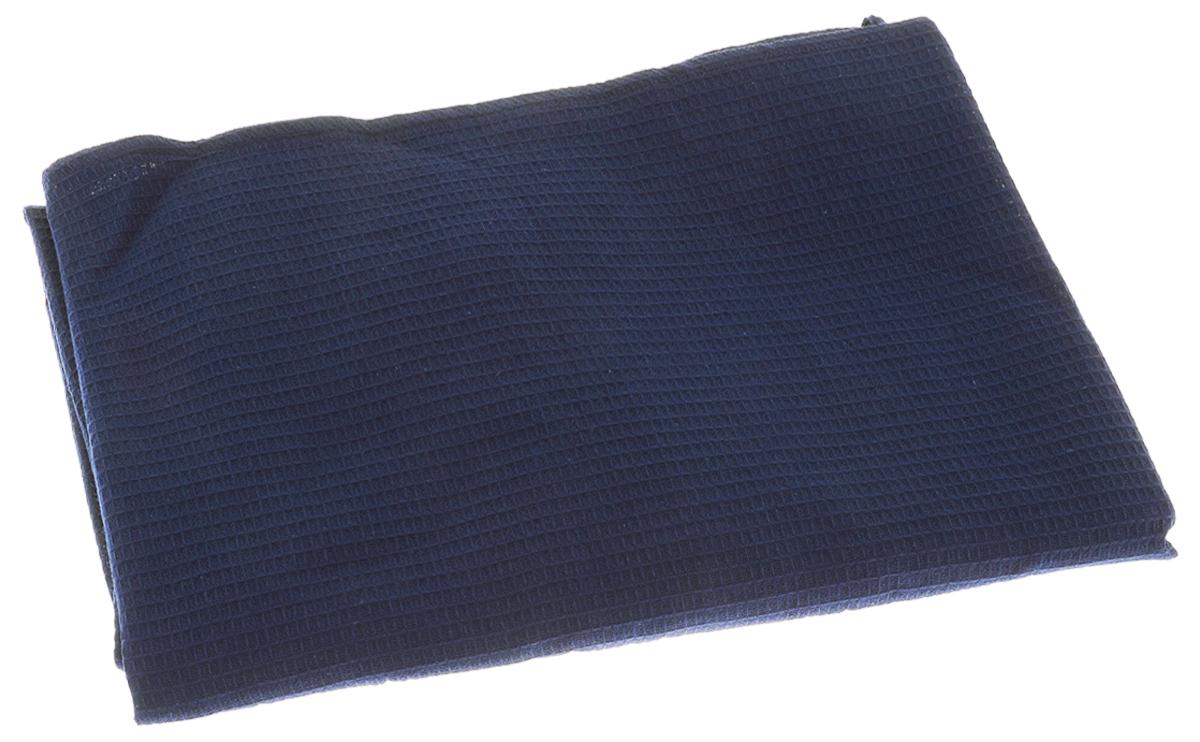 Накидка для бани и сауны Банные штучки, женская, цвет: синий531-301Вафельная накидка Банные штучки, изготовленная из 100% натурального хлопка, станет незаменимым аксессуаром в бане или сауне. Изделие снабжено резинкой и застежкой-липучкой. Имеет универсальный размер. Такая накидка - очень функциональная вещь, ее также можно использовать как полотенце или коврик на скамейку.Размер: 36-60.