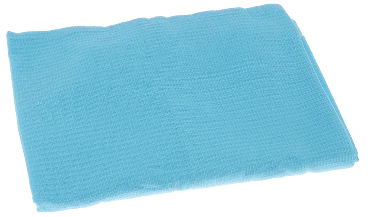 Накидка для бани и сауны Банные штучки, женская, цвет: голубойZ3662Вафельная накидка Банные штучки, изготовленная из 100% натурального хлопка, станет незаменимым аксессуаром в бане или сауне. Изделие снабжено резинкой и застежкой-липучкой. Имеет универсальный размер. Такая накидка - очень функциональная вещь, ее также можно использовать как полотенце или коврик на скамейку. Размер: 36-60.