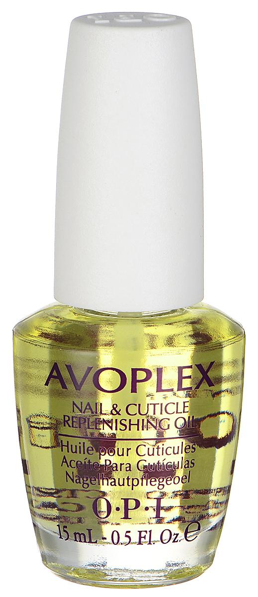 OPI Масло для ногтей и кутикулы Avoplex, увлажняющее, 15 мл29915Масло для кутикулы OPI Avoplex - это средство с липидным комплексом авокадо в составе, включающее в себя витамины А, B, D, E и лецитин. Смягчает, а также питает кутикулу и матрикс ногтя, замедляет нарастание кутикулы, способствует росту натуральных ногтей. Кроме того, в состав входят: масла виноградных косточек, подсолнуха, кунжута. Идеальный уход за ногтями в салоне и дома.Не содержит синтетических добавок, отдушек и красителей.Товар сертифицирован.