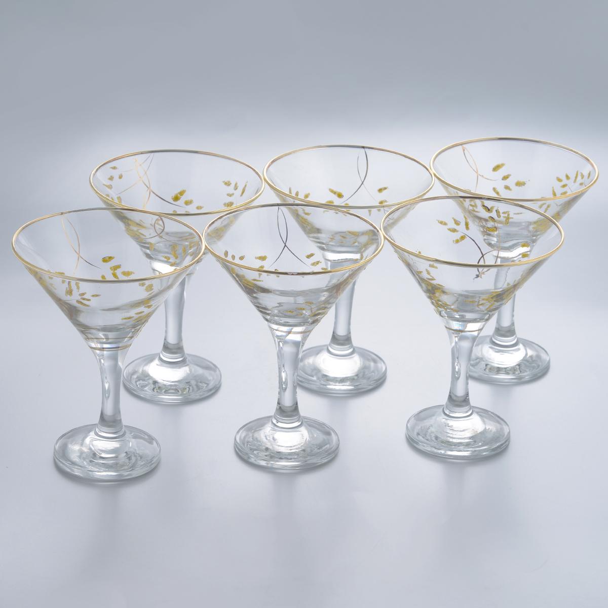 Набор бокалов для мартини Гусь-Хрустальный Колосок, 170 мл, 6 шт elvan потолочная люстра elvan md36504 5