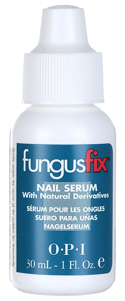 OPI Сыворотка для ногтей FungusFix, восстанавливающая, с натуральными компонентами, 30 мл5010777139655Сыворотка для ногтей от OPI FungusFix с натуральными компонентами является клинически проверенным профессиональным косметическим средством, предназначенным для борьбы с грибковыми заболеваниями ногтей. Входящие в состав ингридиенты, такие как: ундециленоилглицин (Undecylenoyl Glycine) - широко используемый и надежный натуральный компонент, и усниновая кислота (Usnic Acid) - натуральный продукт, получаемый из мха, воздействуют на причину заболевания, восстанавливают и неузнаваемо улучшают внешний вид ногтей в большинстве случаев в течении всего лишь 2-3 недель. Гипоаллергенная формула, не содержащая запаха.Товар сертифицирован.