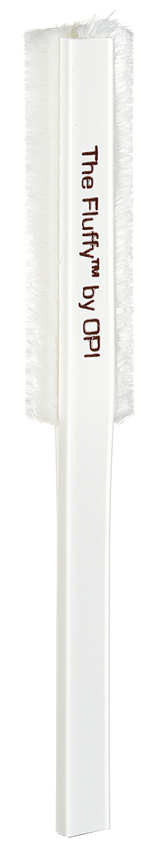 OPI Пуховка для ногтей  The Fluffy1092018Пуховка для ногтей от OPI Fluffy - инструмент для маникюра и педикюра, который позволяет мягко удалить опил с поверхности искусственных и натуральных ногтей. Многоразовая, не статичная пуховка может быть очищена и продезинфицирована.Размер рабочей поверхности: 9,5 см х 2,5 см.Товар сертифицирован.