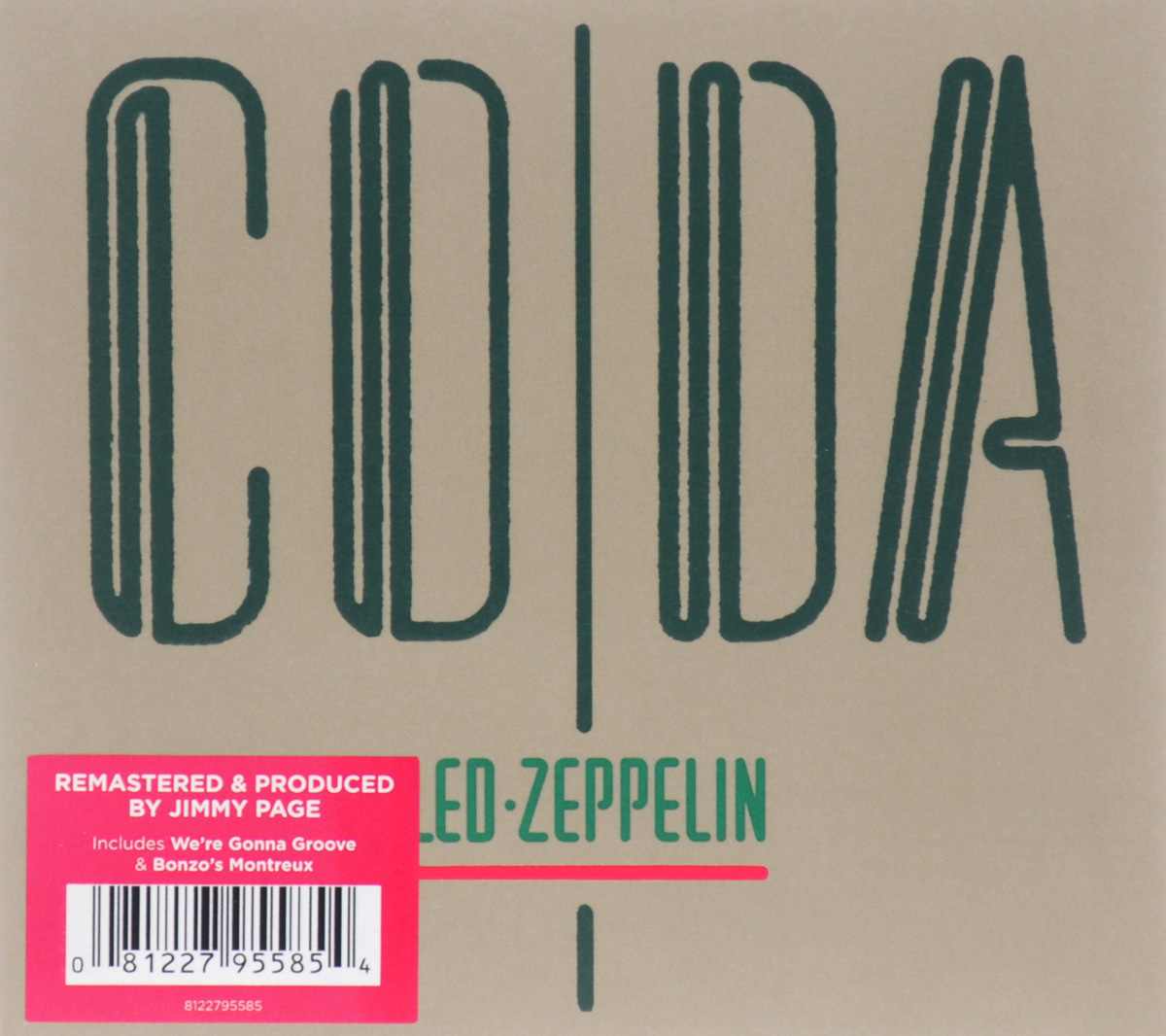 Led Zeppelin Led Zeppelin. Coda (LP) виниловая пластинка led zeppelin led zeppelin ii 4 lp