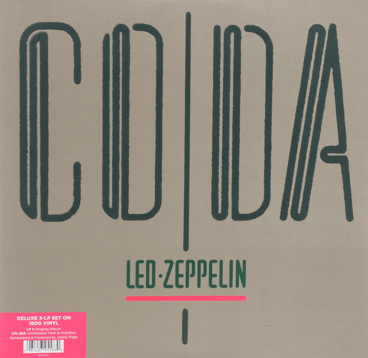 Led Zeppelin Led Zeppelin. Coda. Deluxe (3 LP) led zeppelin led zeppelin physical graffiti 3 lp