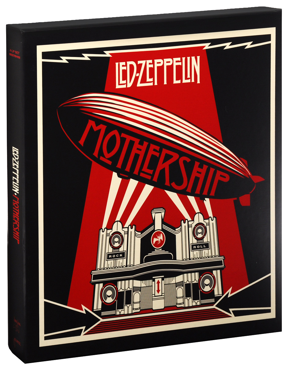 Led Zeppelin Led Zeppelin. Mothership (4 LP) стоимость