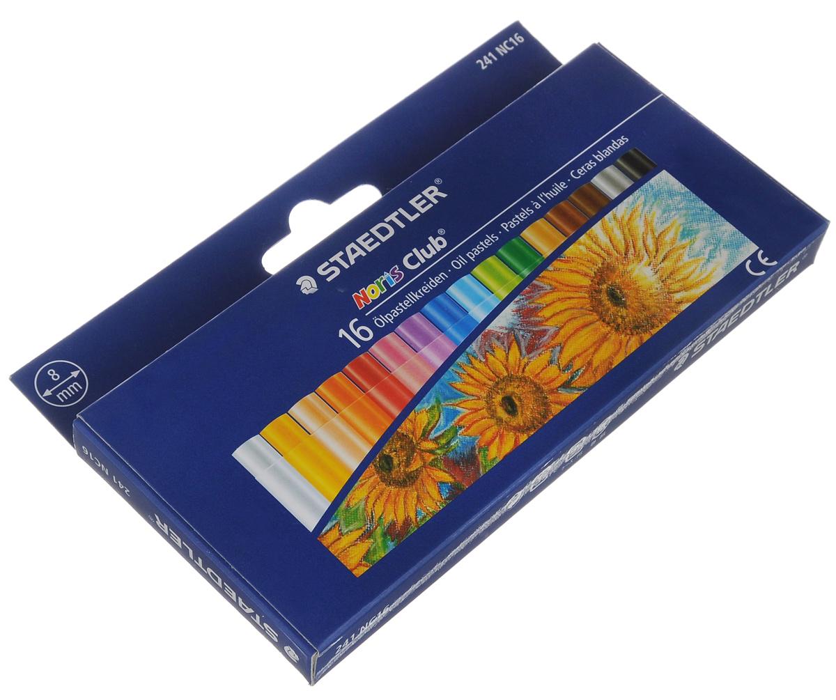 Пастель масляная Noris Club, 16 цветов241NC1604Пастель масляная Noris Club предназначена для рисования, перекрытия цвета и техники процарапывания на любых гладких поверхностях. Мелки ударопрочрочные, влагостойкие, защищены от поломок благодаря специальному составу. Пастель не содержит вредных примесей и соответствует всем европейским стандартам качества. Каждый мелок в индивидуальной бумажной обертке.Количество цветов: 16. Диаметр мелка: 0,8 см. Длина мелка: 6 см.