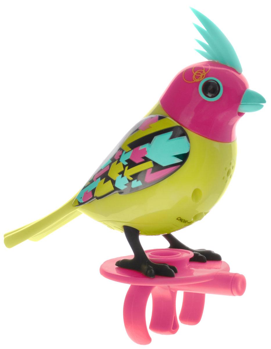 DigiBirds Интерактивная игрушка Птичка Neon silverlit digibirds пингвин фигурист с кольцом серый