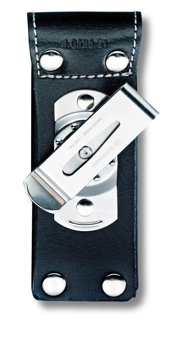 Чехол на ремень Victorinox 4.0523.31, цвет: черный4.0523.31Чехол Victorinox на ремень с застежкой - липучкой Velcro. На закрывающем клапане находится металлическая фирменная эмблема компании Victorinox с изображением швейцарского креста.Для солдатских ножей размером 111 мм и многофункциональных инструментов серии SwissTools (115 мм).Толщина ножа: до 3-х уровнейЦвет: черныйМатерил: натуральная кожа.