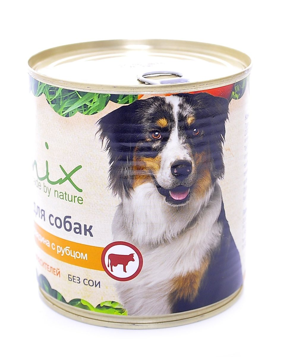 Консервы для собак Organix, говядина с рубцом, 750 г0120710Консервы для собак Organix изготовлены из 100% свежего мяса различного вида. Приготовлены из тщательно отобранных сортов мяса, которые внесут приятное разнообразие в меню вашей собаки. Корм разработан для обеспечения всех питательных потребностей взрослых собак. Не содержит искусственных красителей, ароматизаторов или консервантов, ГМО.Специальная обработка помогает сохранять корм длительное время. Хранить при температуре от 0°С до +25°С и относительной влажности воздуха не более 75%.Использовать при комнатной температуре. Открытую банку хранить в холодильнике не более 24 часов при температуре от +2°С до +6°С.Состав: говядина, рубец, печень, сердце, легкое, натуральная желирующая добавка, злаки (не более 2%), соль, растительное масло, вода.В 100 г продукта: протеин - 8,0, жир - 6,0, углеводы - 4,0, клетчатка - 0,2, зола - 2,0, влага - до 80%.Энергетическая ценность: 102 ккал. Суточная норма 25 г на 1 кг веса животного. Условия хранения: в прохладном темном месте.