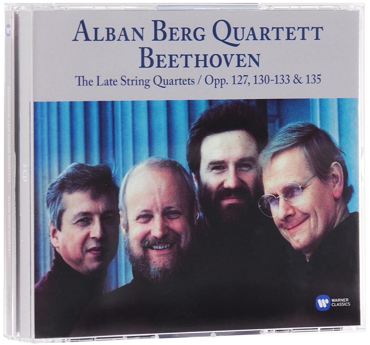Alban Berg Quartet,Гюнтер Пичлер,Герхард Шульц,Томас Какуска,Валентин Эрбен Alban Berg Quartett. Beethoven. The Late String Quartets. Opp. 127, 130, 131, 132, 133 & 135 (3 CD) danza