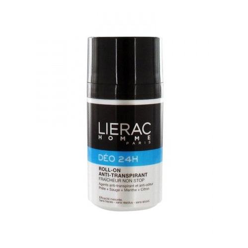 Lierac ДЕЗОДОРАНТ Lierac Homme 24 часа защиты, для мужчин 50млMP59.4DУникальное сочетание компонентов позволяет устранить ощущение влажности кожи и неприятные запахи. Кожа остаётся сухой и чистой.Обеспечивает 24 часа защиты от запаха пота. Шариковый антиперспирант, обеспечивает свежесть и комфорт в течение всего дня. Не содержит спирт. Не оставляет следов и пятен