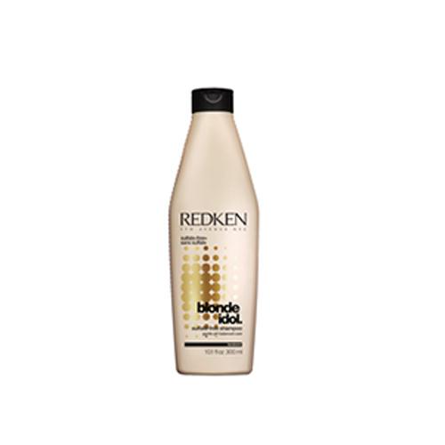 Redken шампунь Blonde Idol 300 млP0899700Специально для волос блонд. Шампунь Блонд Айдол бережно очищает волосы, нормализует баланс pH и увлажняет их.Идеально подходит для светлых волос. При использовании всей гаммы Blonde Idol (шампунь, ВВВ-спрей,или маска) Эксклюзивная система REDKEN Kera-Bright System насыщенная кератиновыми связями, экстрактом листов фиалки и молочной кислотой, воздействует на волосы изнутри, укрепляя их, увлажняя активизируя процессы обновления клеток, усиливая синтез коллагена, увеличивая липидный запас и насыщая волосы блеском.