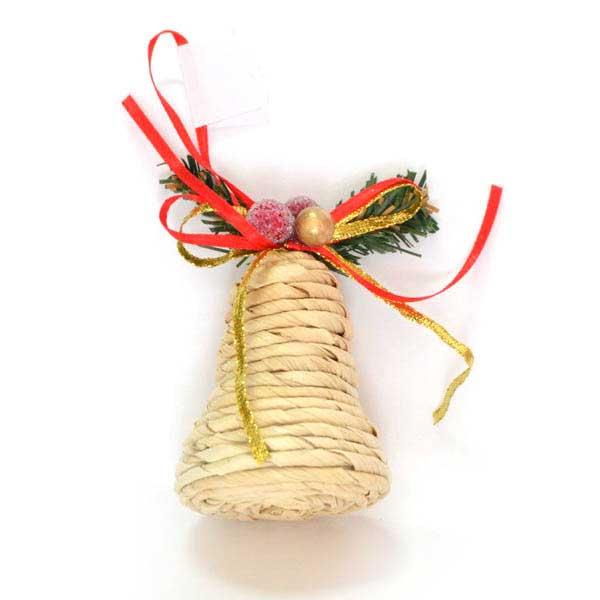 Украшение елочное подвесное Winter Wings Колокольчик38638Новогоднее украшение Winter Wings Колокольчик отлично подойдет для декорации вашего дома и новогодней ели. Украшение выполнено из полимера и соломы в виде колокольчика. С помощью специальной петельки украшение можно повесить в любом понравившемся вам месте.Елочная игрушка - символ Нового года. Она несет в себе волшебство и красоту праздника. Создайте в своем доме атмосферу веселья и радости, украшая всей семьей новогоднюю елку нарядными игрушками, которые будут из года в год накапливать теплоту воспоминаний.