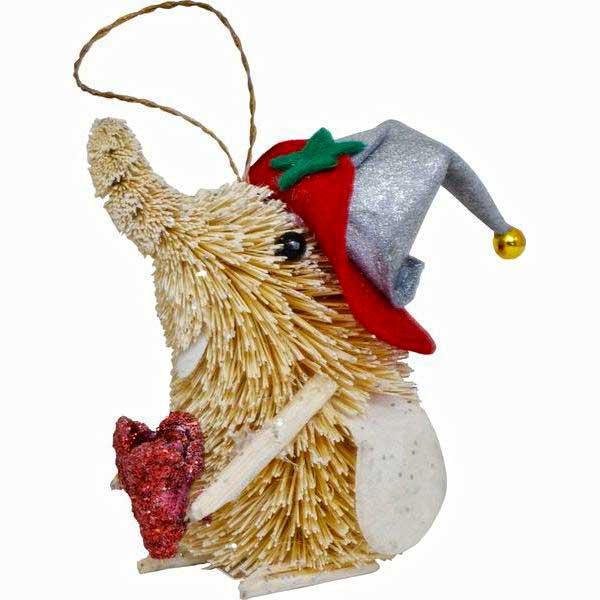 Украшение елочное подвесное Winter Wings Слон с цветкомRSP-202SНовогоднее украшение Winter Wings Слон с цветком отлично подойдет для декорации вашего дома и новогодней ели. Украшение выполнено из соломы с блестящей крошкой в виде слоника с цветком и в шляпе. С помощью специальной петельки украшение можно повесить в любом понравившемся вам месте.Елочная игрушка - символ Нового года. Она несет в себе волшебство и красоту праздника. Создайте в своем доме атмосферу веселья и радости, украшая всей семьей новогоднюю елку нарядными игрушками, которые будут из года в год накапливать теплоту воспоминаний.Высота украшения: 10 см.