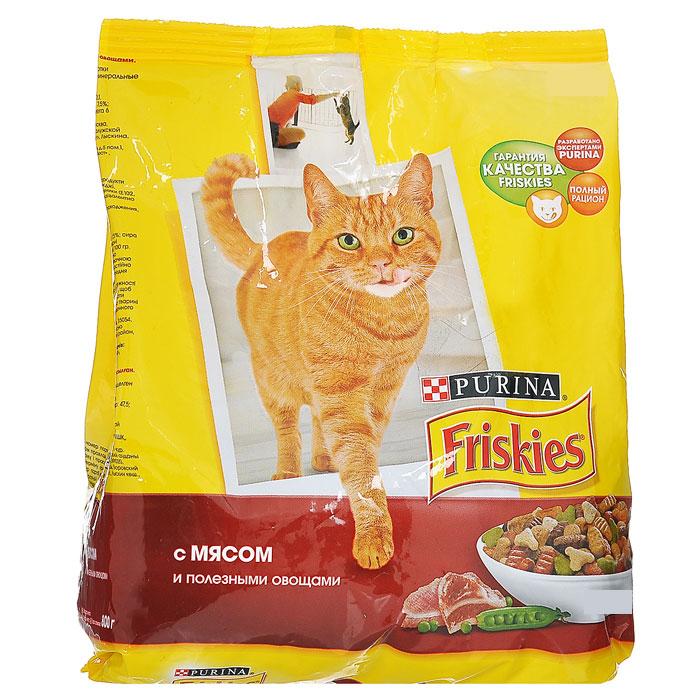 Корм сухой Friskies для домашних кошек, с мясом и полезными овощами, 10 кг16851Сухой корм Friskies с мясом и полезными овощами является полнорационным кормом для взрослых кошек. Кошки, живущие в домашних условиях, мало общаются с природой, поэтому им не достается многих преимуществ жизни на открытом воздухе.Поэтому корм Friskies для домашних кошек специально разработан для питомцев, большую часть времени живущих дома.Белок способствует укреплению мышц и дает энергию. Кальций, фосфор и витамин D важны для поддержания здоровья костей и зубов. Омега-6 жирные кислоты помогают поддерживать шерсть здоровой и блестящей. Таурин важен для хорошего зрения и здоровья сердца. Корм не содержит усилителей вкуса. Состав: злаки, мясо и продукты его переработки, продукты переработки овощей, растительный белок, жиры и масла, дрожжи, консерванты, минеральные вещества, витамины, красители, овощи и антиоксиданты.Добавленные вещества: МЕ/кг: витамин А 12500, витамин D3 1000; мг/кг6 железо 47,5, йод 1,5, медь 9, марганец 5, цинк 67, селен 0,1.Гарантированные показатели: белок 30%, жир 10%, сырая зола 7,5%, сырая клетчатка 2,5%, кальций 1%, фосфор 1%, таурин 0,09%, омега 6 жирные кислоты 1,5%.Товар сертифицирован.