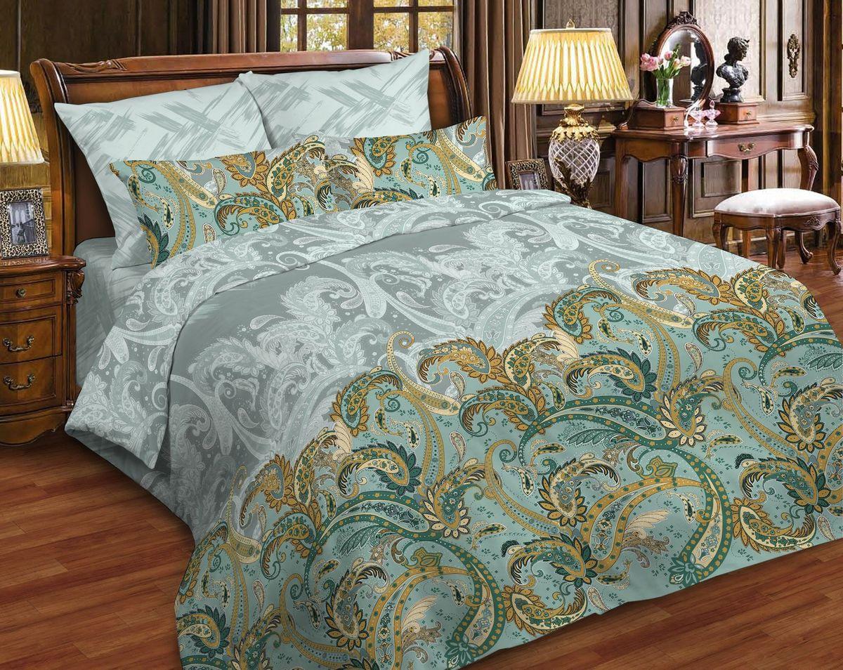 Комплект белья Диана La Vanille, 1,5-спальный, наволочки 70х70, цвет: светло-коричневый, серый, зеленый. С-663/2-143-150-70S03301004Комплект постельного белья Диана La Vanille состоит из пододеяльника, простыни и двух наволочек. Белье бесшовное, оформлено оригинальным узором и имеет изысканный внешний вид. Изготовлено из бязи люкс (100% хлопка).Бязь - это ткань из экологически чистого и натурального 100% хлопка. Неоспоримым плюсом белья из такой ткани является мягкость и легкость, она прекрасно пропускает воздух, приятна на ощупь, не образует катышков на поверхности и за ней легко ухаживать. При соблюдении рекомендаций по уходу это белье выдерживает много стирок, не линяет и не теряет свою первоначальную прочность. Уникальная ткань обеспечивает легкую глажку.Приобретая комплект постельного белья Диана La Vanille, вы можете быть уверенны в том, что покупка доставит вам и вашим близким удовольствие и подарит максимальный комфорт.