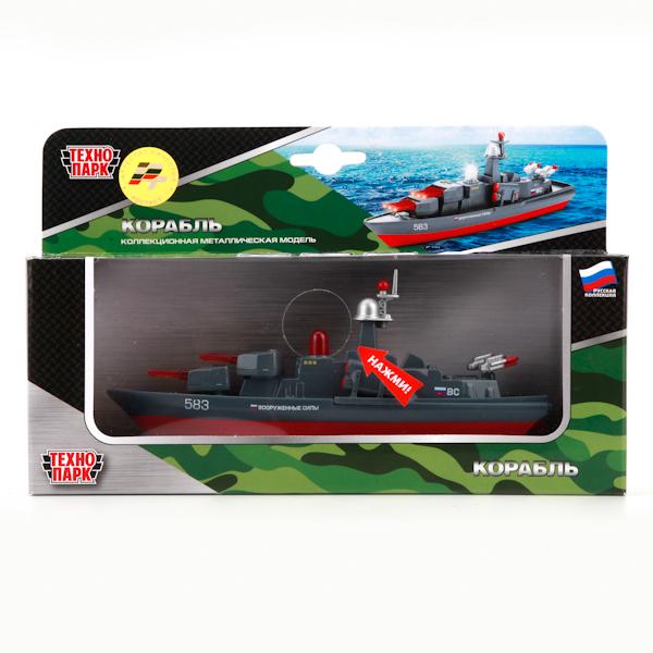 ТехноПарк Водный транспорт Корабль инерционный, Shantou City Daxiang Plastic Toy Products Co., Ltd