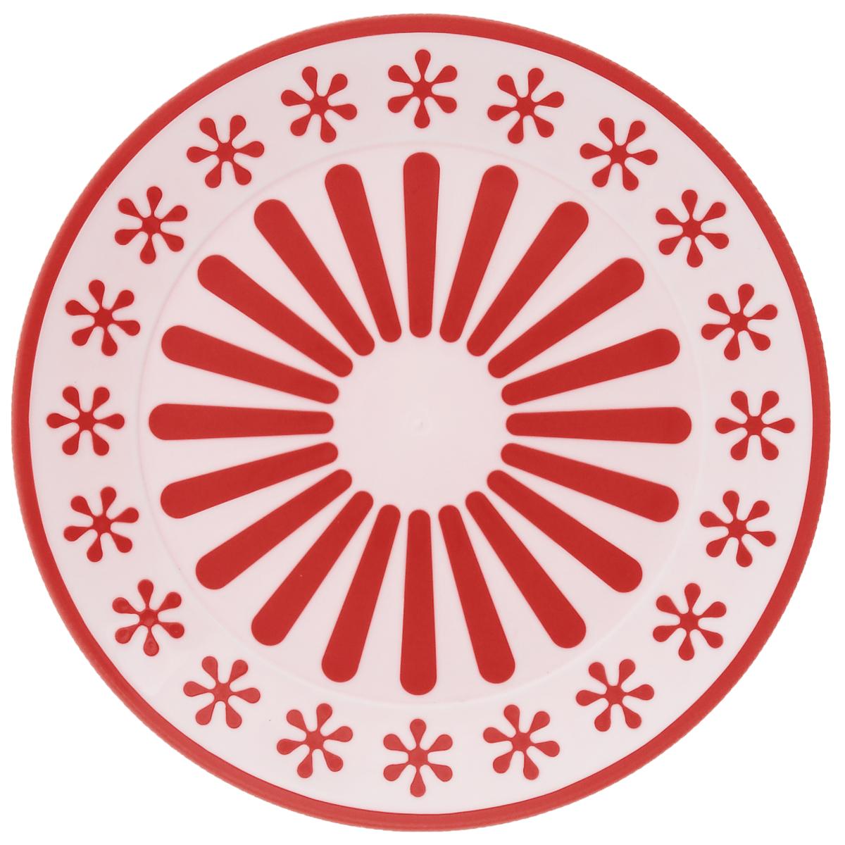 Тарелка Альтернатива Валенсия, диаметр 19 см54 009312Круглая тарелка Альтернатива Валенсия, изготовленная из высококачественного пластика, оформлена оригинальным и ярким рисунком. Изделие подходит для повседневного пользования. Диаметр тарелки: 19 см. Высота тарелки: 1,7 см.