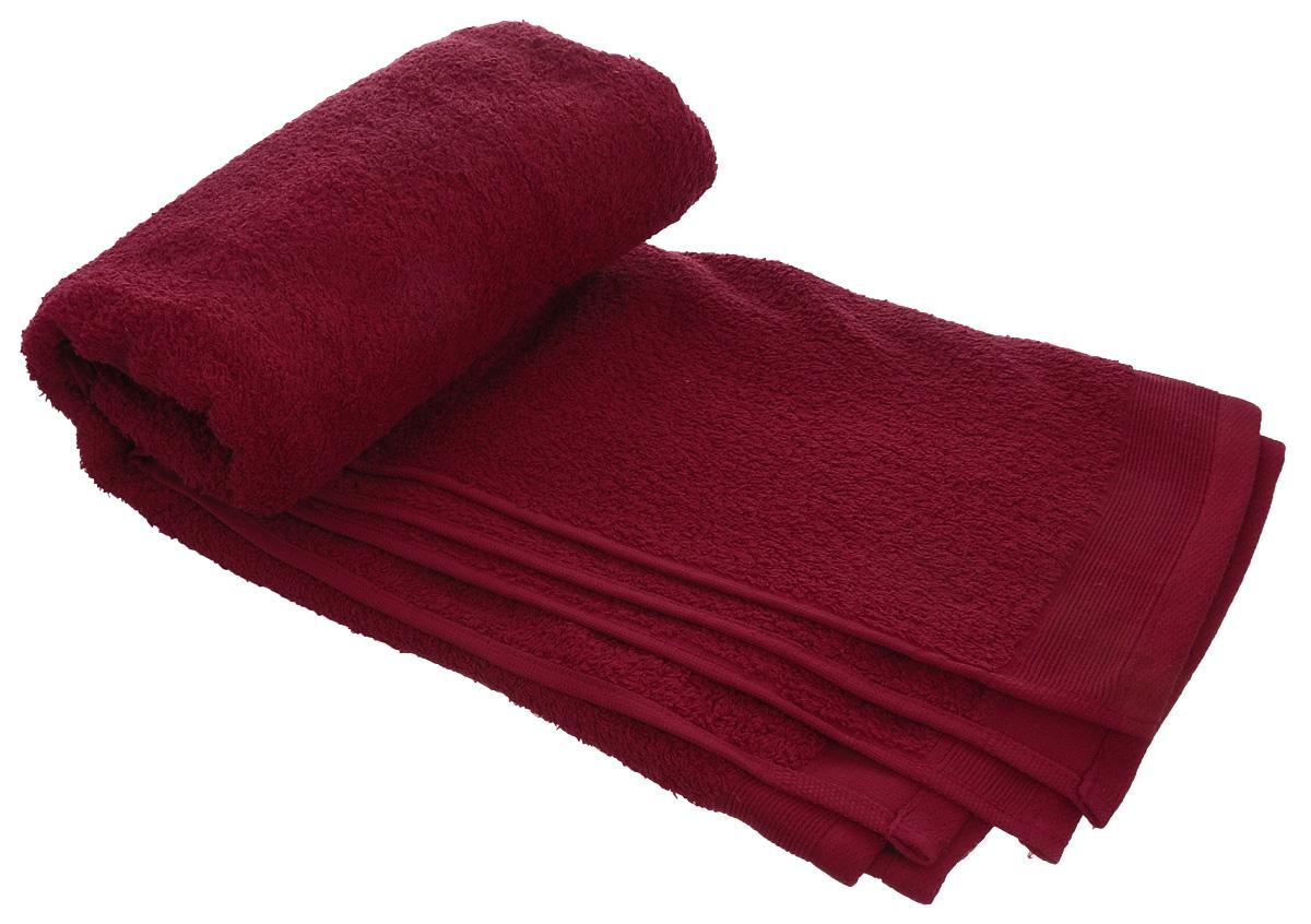 Полотенце махровое Guten Morgen, цвет: темно-красный, 70 х 140 см68/5/3Махровое полотенце Guten Morgen, изготовленное из натурального хлопка, прекрасно впитывает влагу и быстро сохнет. Высокая плотность ткани делает полотенце мягкими, прочными и пушистыми. При соблюдении рекомендаций по уходу изделие сохраняет яркость цвета и не теряет форму даже после многократных стирок. Махровое полотенце Guten Morgen станет достойным выбором для вас и приятным подарком для ваших близких. Мягкость и высокое качество материала, из которого изготовлено полотенце, не оставит вас равнодушными.