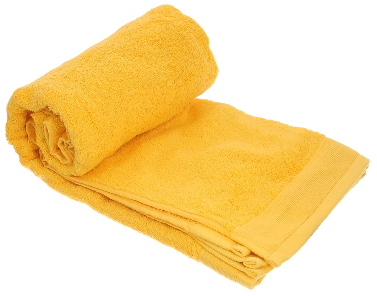 Полотенце махровое Guten Morgen, цвет: желтый, 70 см х 140 см1004900000360Махровое полотенце Guten Morgen, изготовленное из натурального хлопка, прекрасно впитывает влагу и быстро сохнет. Высокая плотность ткани делает полотенце мягкими, прочными и пушистыми. При соблюдении рекомендаций по уходу изделие сохраняет яркость цвета и не теряет форму даже после многократных стирок. Махровое полотенце Guten Morgen станет достойным выбором для вас и приятным подарком для ваших близких. Мягкость и высокое качество материала, из которого изготовлено полотенце, не оставит вас равнодушными.