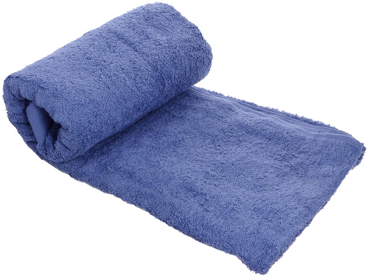 Полотенце махровое Guten Morgen, цвет: темно-голубой, 70 х 140 см531-105Махровое полотенце Guten Morgen, изготовленное из натурального хлопка, прекрасно впитывает влагу и быстро сохнет. Высокая плотность ткани делает полотенце мягкими, прочными и пушистыми. При соблюдении рекомендаций по уходу изделие сохраняет яркость цвета и не теряет форму даже после многократных стирок. Махровое полотенце Guten Morgen станет достойным выбором для вас и приятным подарком для ваших близких. Мягкость и высокое качество материала, из которого изготовлено полотенце, не оставит вас равнодушными.