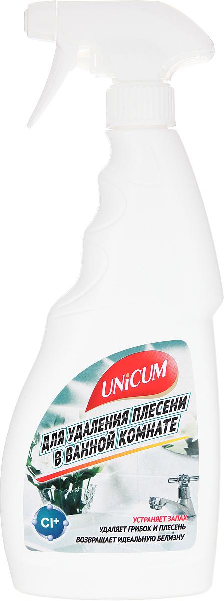 Средство для удаления плесени в ванной комнате Unicum, 750 мл68/5/1Высокоэффективное средство Unicum для чистки керамической плитки, фарфорового, фаянсового и пластикового оборудования ванных, душевых и туалетных комнат. Средство удаляет неприятные запахи, уничтожает бактерии, плесень и грибок, возвращает первозданную белизну. Особенно эффективно действует в труднодоступных местах - межплиточных швах, трещинах, стыках.Состав: деионизованная вода, гипохлорит натрия 5-15%, АПАВ <5%, ароматизатор <5%.