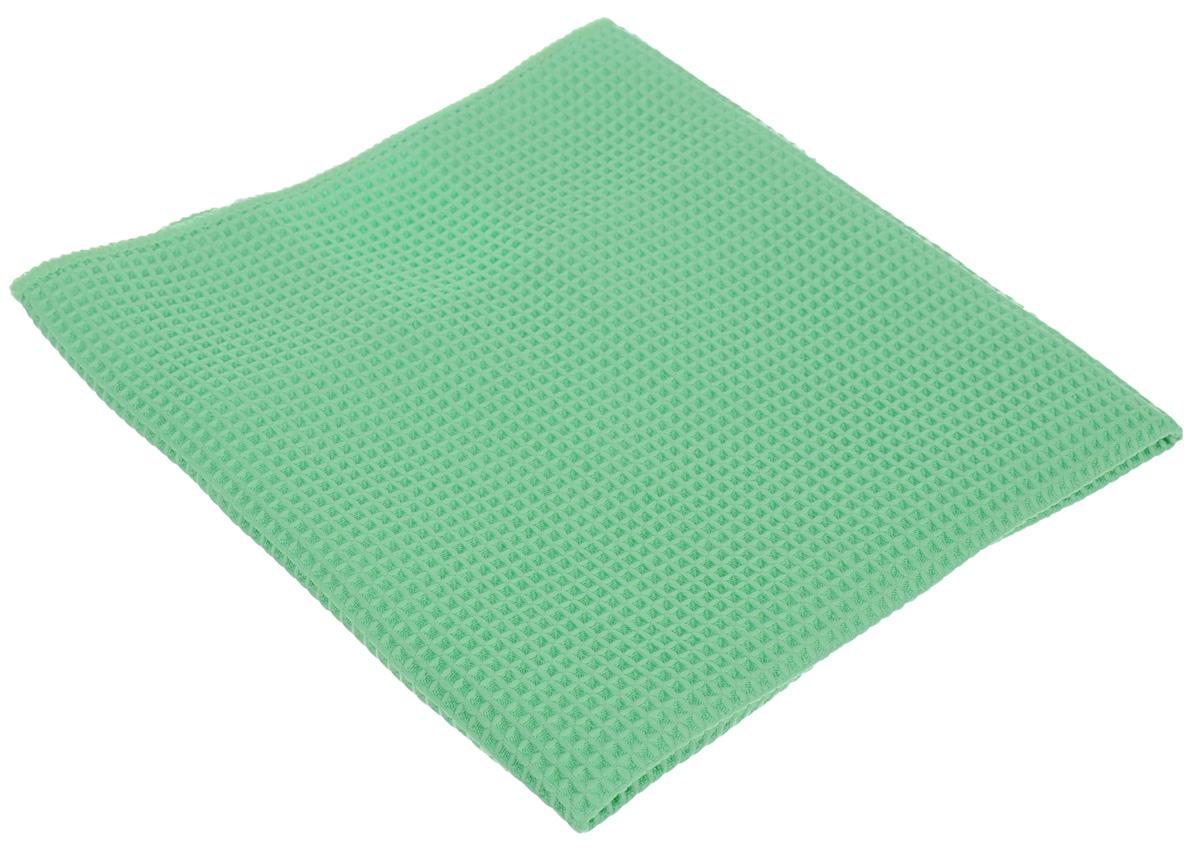 Салфетка для кухни Unicum Premium, цвет: зеленый, 40 х 40 смVCA-00Салфетка Unicum Premium изготовлена по самым современным технологиям. Уникальные чистящие свойства салфетки - абсорбировать жир, грязь, пыль, никотин - обеспечивают специальные клиновидные микроволокна, которые в 100 раз меньше человеческого волоса. Салфетка обладает непревзойденной способностью быстро впитывать большой объем жидкости (в восемь раз больше собственной массы).