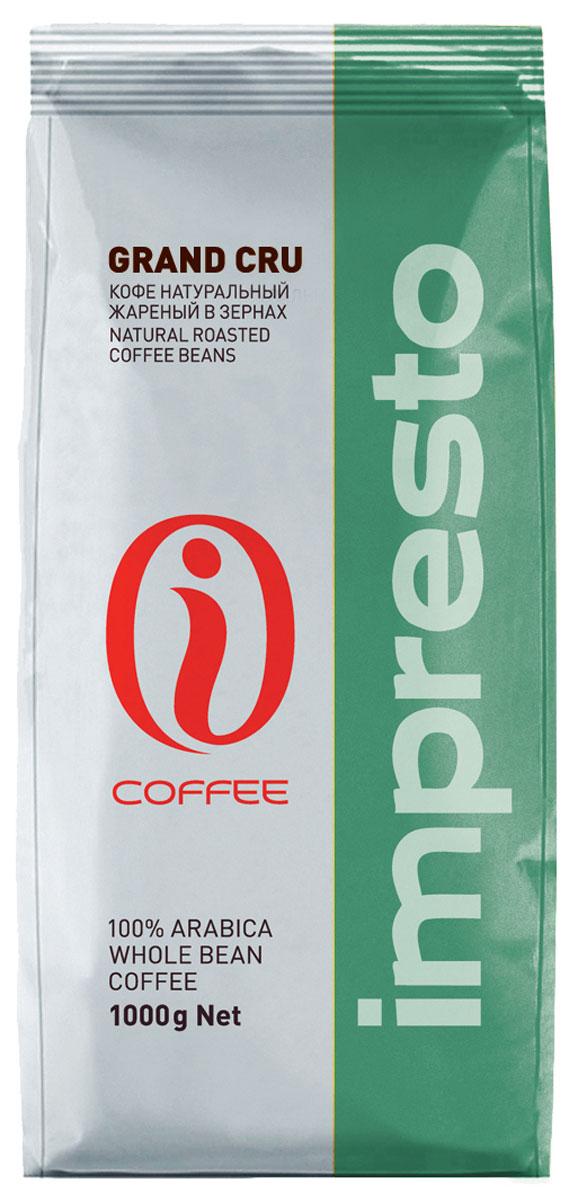 Impresto Grand Cru кофе в зернах, 1 кг4607141338151Исключительно ароматная арабика с высокогорных плантаций Центральной Америки и Бразилии. Роскошный кофе отличается легкой кислинкой и ярким, глубоким букетом. Страна: Никарагуа, Бразилия. Коллекция Impresto – это особая линейка с оригинальными рецептурами из 100% арабики и сбалансированных купажей с робустой, а также декофеинизированный кофе и фильтр-смеси. Мы с радостью предоставляем возможность каждому ценителю кофе приготовить дома превосходный утренний американо, послеобеденную чашечку эспрессо и вечерний кофе с молоком. Купажи Impresto – это зерно с лучших плантаций мира, мастерство европейского обжарщика, тщательное купажирование и высокотехнологичное производство с приверженностью к итальянским кофейным традициям.Impresto – это не только качественный кофе, но и бренд с насыщенной эмоциональной составляющей. Impressive, rest, espresso, restaurant, presto – все это несет в себе Impresto. Новый кофе Impresto – это идеальный выбор современных и динамичных людей, которые любят и умеют ценить действительно вкусный кофе.