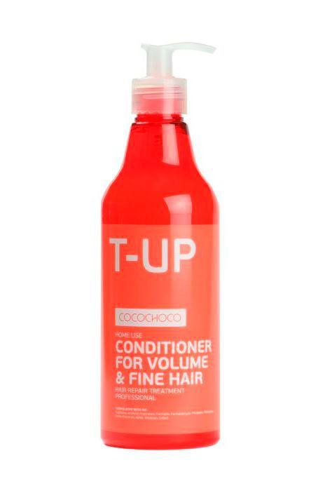 CocoChoco BOOST-UP Кондиционер для придания объема 500 млFS-00897Кондиционер Boost-Up Conditioner for Volume & Fine Hair для придания волосам объёма и пышности рекомендован для ухода за тонкими, лишёнными объёма волосами, а также применяется после процедуры кератинового восстановления волос. Регулярное использование кондиционера гарантирует волосам отличный объём на весь день.Не содержит сульфатов, искусственных отдушек, формалина, формальдегида, парабенов, фталатов, нефтехимических продуктов, ГМО, триклозана, красителей.