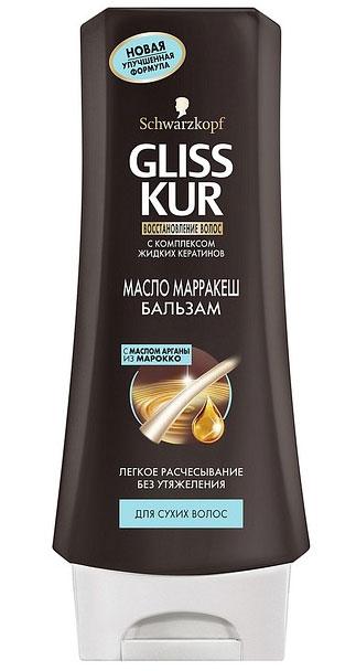 Gliss Kur Бальзам Масло Марракеш, для сухих волос, 200 мл92300002Бальзам Масло МарракешБлагодаря ценным природным ингредиентам – Маслу Марракеш и Масло Арганы - бальзам дарит волосам глубокий восстанавливающий уход без утяжеления. Формула на основе жидких кератинов, идентичных натуральному кератину волос, обеспечивает легкое расчесывание, мягкость и роскошный блеск. Результат комплексного применения шампуня и бальзама Gliss Kur Масло Марракеш – невероятно гладкие и шелковистые волосы.Подарите вашим волосам силу драгоценного Масла Марракеш вместе с Gliss Kur! Характеристики:Объем: 200 мл. Артикул: 1680379. Производитель: Россия. Товар сертифицирован.