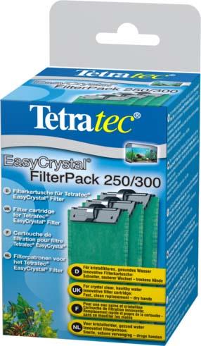 Фильтрующие картриджи Tetra EC 250/300, для внутренних фильтров EasyCrystal 250/30, 3 шт0120710Набор фильтрующих картриджей без угля. Фильтрующий картридж предназначен для применения во внутренних фильтрах. В комплекте предусмотрено наличие трех губок, которые подходят для фильтрационных установок EasyCrystalFilter 250 и EasyCrystal FilterBox 300. Двусторонняя фильтрующая прослойка надёжно удаляет мельчайшие песчинки и частички грязи. Белая поверхность губки предназначена для выполнения предварительной фильтрации, а зелёная - для тщательного фильтрования воды.