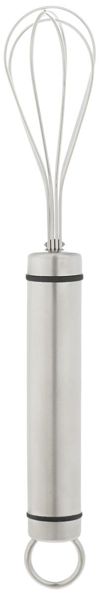 Мини-венчик Tescoma President, длина 21 см54 009312Венчик Tescoma President имеет 4 проволочные петли из высококачественной нержавеющей стали, обеспечивающих эффективное перемешивание и взбивание ингредиентов. Благодаря небольшому размеру этот венчик удобно использовать в небольших мисках и чашках. Рукоятка изготовлена из высококачественной нержавеющей стали и оснащена металлической петелькой для подвеса. Можно мыть в посудомоечной машине. Длина венчика: 21 см. Размер рабочей поверхности: 6,5 см х 3,5 см.
