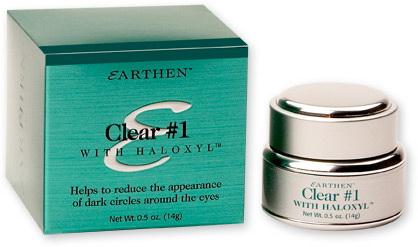 Earthen Крем для кожи вокруг глаз от темных кругов Clear#1 with HaloxylL1907Легкий крем с маслом жожоба насыщает кожу аминокислотами, жирными кислотами, эфирами жирных кислот, коллагеном и витамином Е. Экстракт рисовых отрубей оказывает антимикробное и противовоспалительное действие, придает Anti- age эффект. Высокомолекулярный пептид обеспечивает увлажнение кожи, синтез коллагена приводит к сокращению морщин, предупреждает образование новых. Богатый комплекс веществ регулирует водный баланс кожи, образует на ней защитный барьер, устраняет сухость, смягчает кожные покровы и делает их эластичными. Снижает визуальное проявление темных кругов и мимических морщин вокруг глаз. Быстро впитывается.