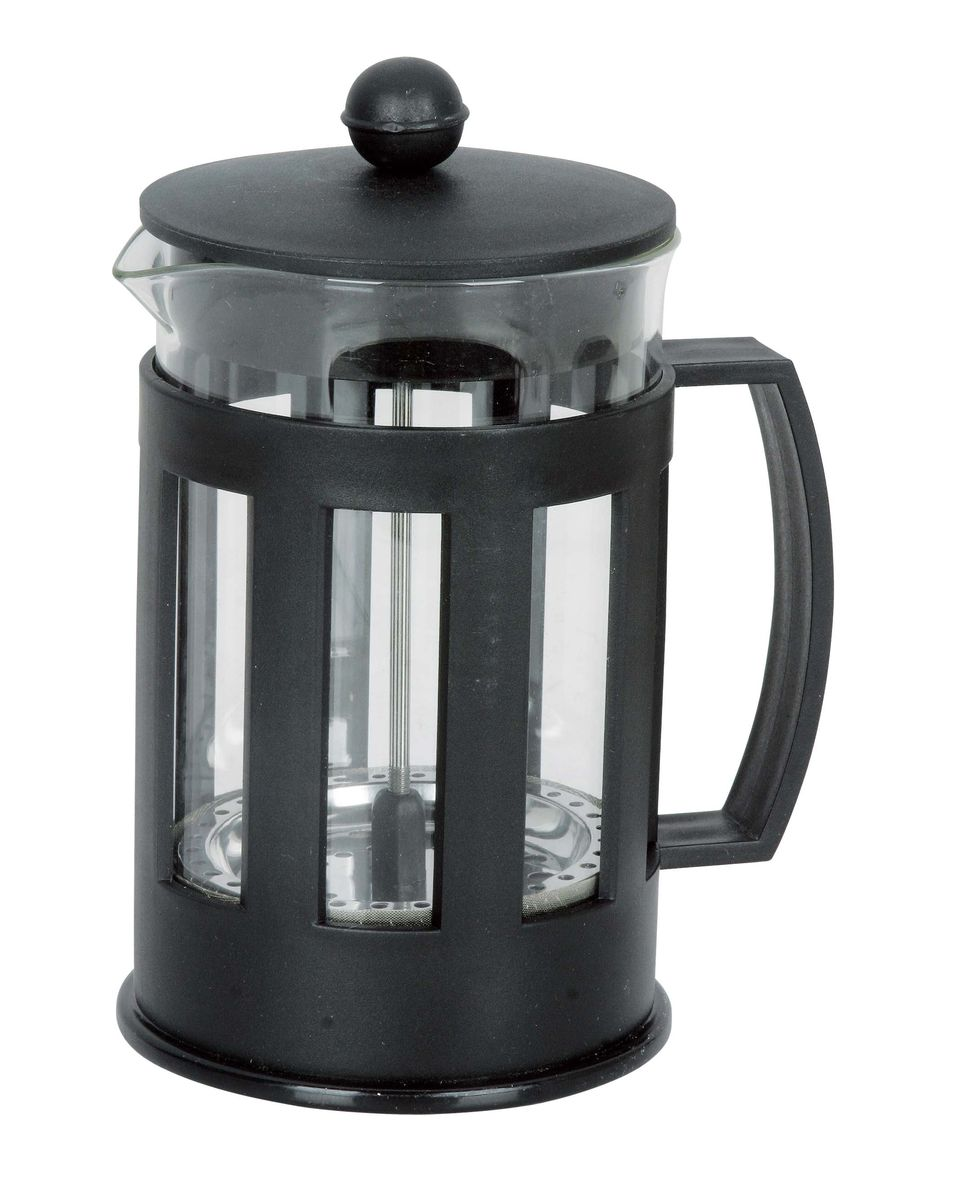 Френч-пресс Miolla, 850 мл54 009305Френч-пресс Miolla используется для заваривания кофе, крупнолистового чая, травяных сборов. Изготовлен из высококачественной нержавеющей стали и упрочненного термостойкого стекла, выдерживающего высокую температуру, что придает ему надежность и долговечность. Пластиковые детали выполнены из прочного нетоксичного материала. Не использовать в микроволновой печи. Нельзя мыть в посудомоечной машине.