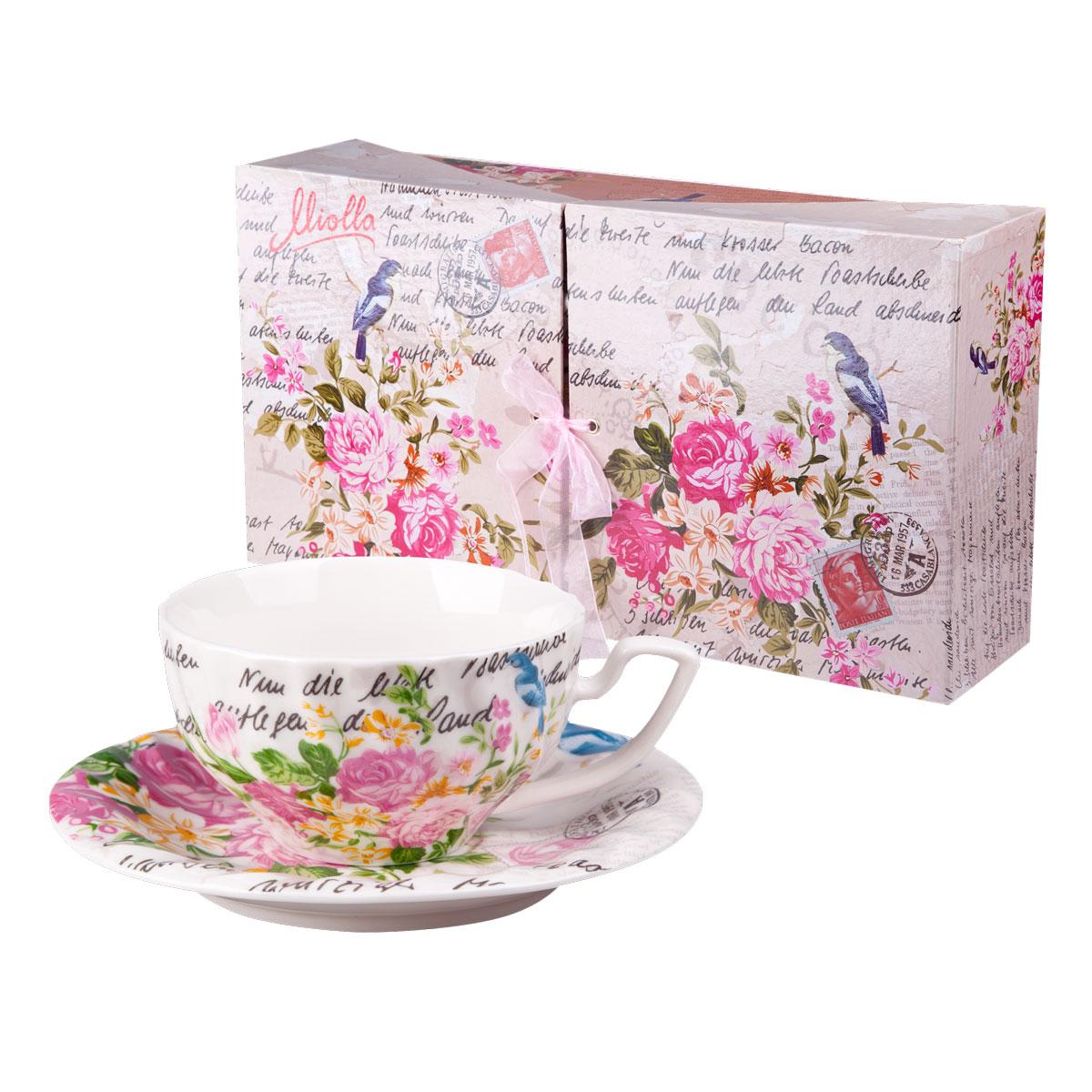 Набор для чая РОЗАЛИЯ, 12 предметов (чашка 220 мл 6 шт, блюдце 6 шт.)VT-1520(SR)Выбор подарка – непростая задача для многих.Набор для чая - не просто подарок, но и гарантия хорошего настроения.