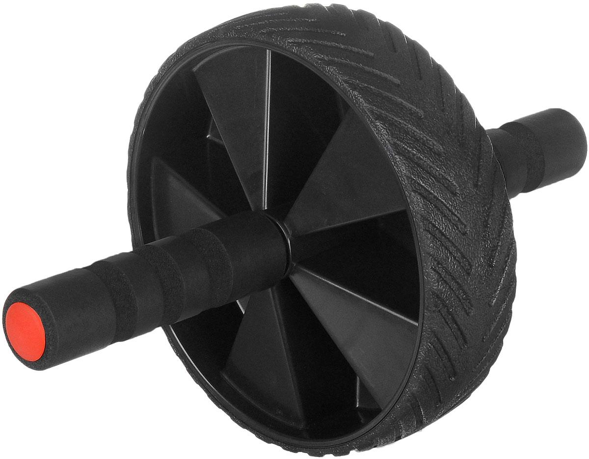 Ролик для пресса Ironmaster, диаметр 17,5 смSF 0085Колесико гимнастическое Ironmaster предназначено для укрепления мышц пресса, рук, ног, спины, бедер и плеч. Стальной стержень с удобными ручками и резиновое покрытие колеса обеспечивают максимальный комфорт и удобство во время тренировки.Диаметр колеса: 17,5 см.Длина стержня: 30 см.