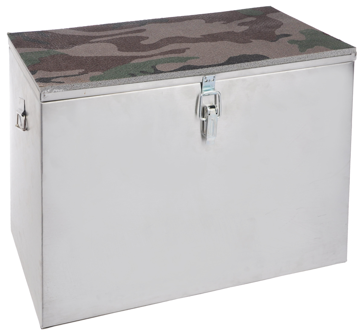 Ящик рыболова Рост, 40 см х 19 см х 29 см26729Прочный и надежный ящик Рост сможет не один год прослужить любителю зимней рыбалки для транспортировки снастей и улова. Корпус изготовлен из листовой оцинкованной стали. Служащая сиденьем верхняя часть крышки оклеена плотным теплоизолятором - пенополиэтиленом с рифленой поверхностью. Внутренний объем ящика разделен перегородкой, придающей конструкции дополнительную жесткость. Боковые стенки емкости снабжены петлями для крепления идущего в комплекте плечевого ремня.