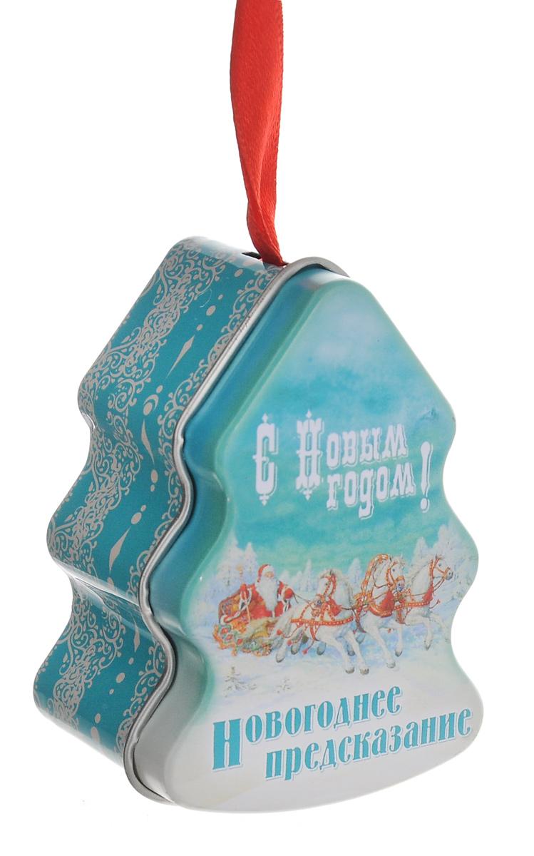 Новогоднее подвесное украшение Феникс-Презент Елка с новогодним пожеланием внутри. 38167_1NLED-454-9W-BKНовогоднее украшение Феникс-Презент Елка с новогодним пожеланием внутри отлично подойдет для декорации вашего дома и ели. Изделие, выполненное из металла в виде елочки, украшено рисунком и оснащено специальной петелькой для подвешивания. Внутри фигурки находится написанное на бумаге и свернутое в трубочку новогоднее пожелание.Елочная игрушка - символ Нового года. Она несет в себе волшебство и красоту праздника. Создайте в своем доме атмосферу веселья и радости, украшая всей семьей новогоднюю елку нарядными игрушками, которые будут из года в год накапливать теплоту воспоминаний.Размер фигурки: 4,5 см х 3,5 см х 7 см.