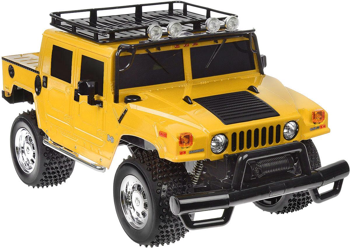 """Радиоуправляемая модель Rastar """"Hummer H1 Sut"""" станет отличным подарком любому мальчику! Все дети хотят иметь в наборе своих игрушек ослепительные, невероятные и крутые автомобили на радиоуправлении. Тем более, если это автомобиль известной марки с проработкой всех деталей, удивляющий приятным качеством и видом. Одной из таких моделей является автомобиль на радиоуправлении Rastar """"Hummer H1 Sut"""". Это точная копия настоящего авто в масштабе 1:6. Возможные движения: вперед, назад, вправо, влево, остановка. Имеются световые эффекты. Пульт управления работает на частоте 27 MHz. Игрушка работает на сменном аккумуляторе (входит в комплект). Для работы пульта управления необходима 1 батарейка 9V (6F22) (не входит в комплект)."""